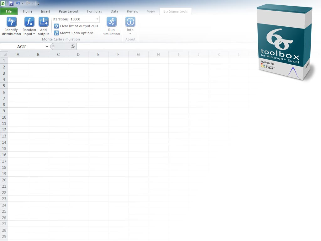 microsoft excel toolbox